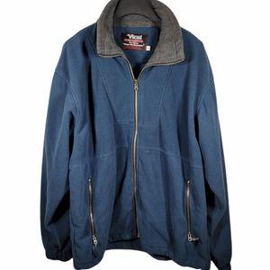 Viking men's zip up sweater size XL